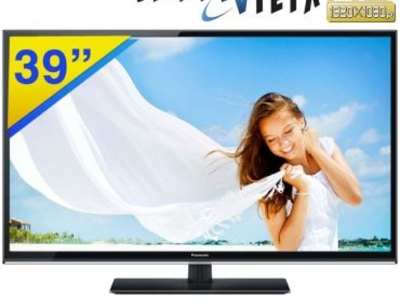 "TV LED Smart 39"" Panasonic Full HD por R$1299,00"