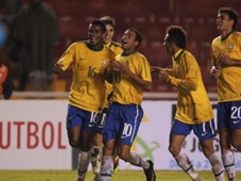 Com Lucas e Neymar, Brasil conquista vaga nas Olimpíadas