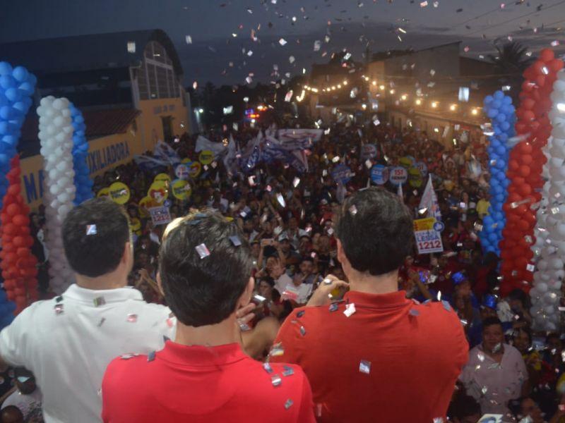 Renan Filho lança campanha à reeleição em Penedo