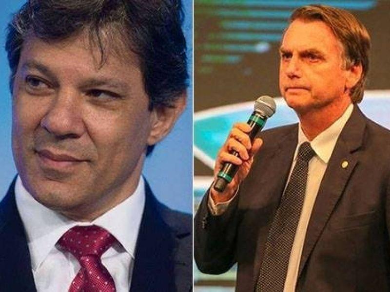 Bolsonaro estaciona e Haddad cresce, acirrando ainda mais eleição presidencial