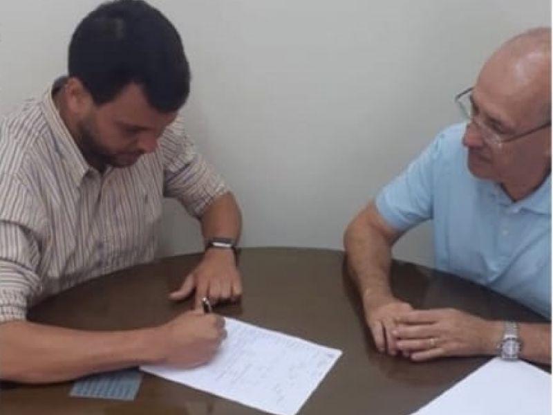 Felipe Moura se filia ao Partido Verde para disputar eleições em 2020