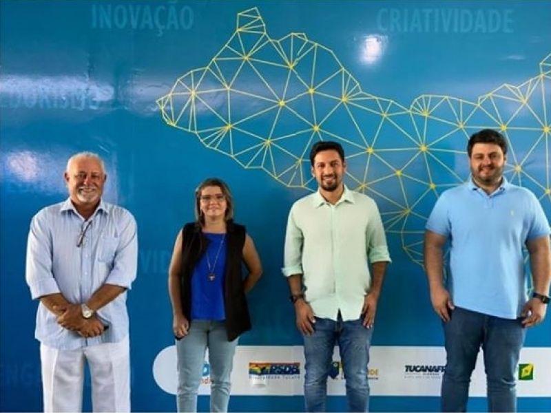 Nelsinho e Ana Flávia selam aliança para disputar a prefeitura de Penedo pelo PSDB