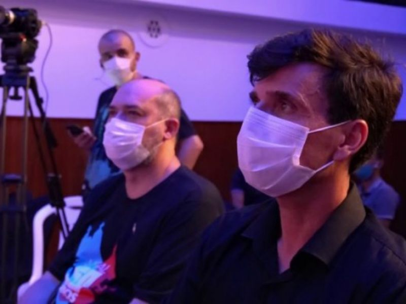 Vídeo: Prefeito Marcius Beltrão destaca avanços para Penedo na abertura do Circuito de Cinema