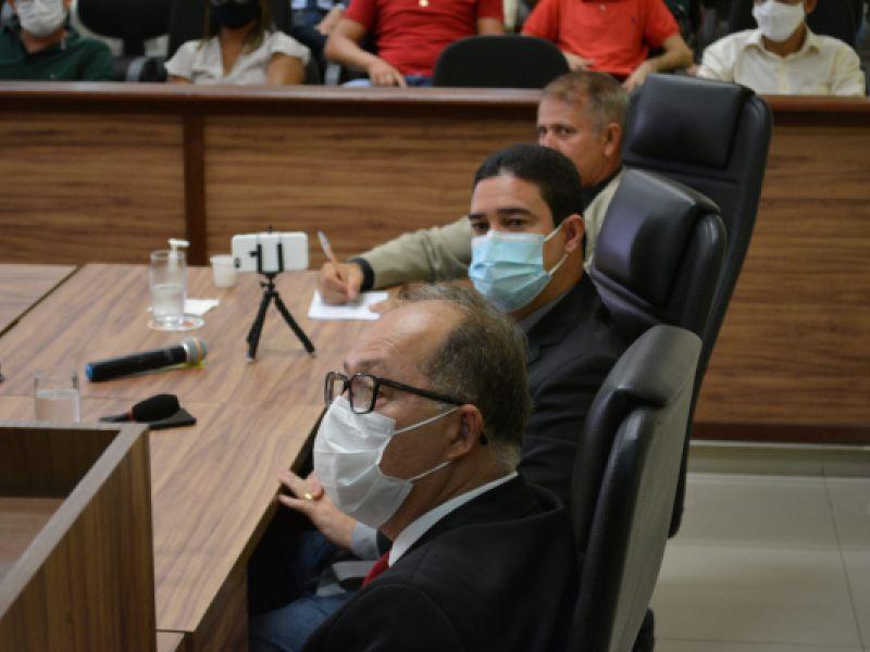 Vereadores de Penedo parabenizam eleição de Arthur Lira para presidir a Câmara Federal