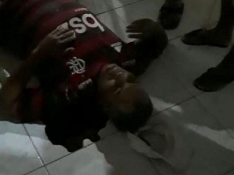 Homem sofre atentado dentro de bar situado no Centro de Feliz Deserto