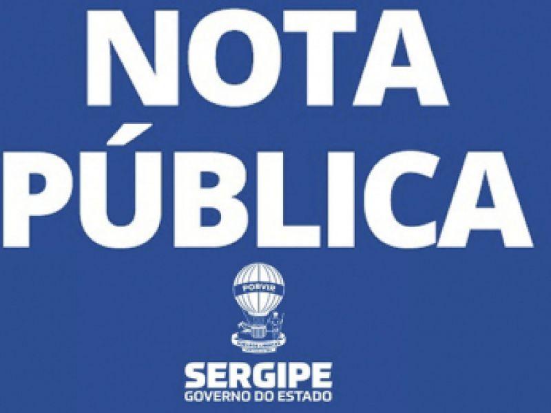 Governo de Sergipe inicia pagamento da folha de junho na próxima terça-feira, 29
