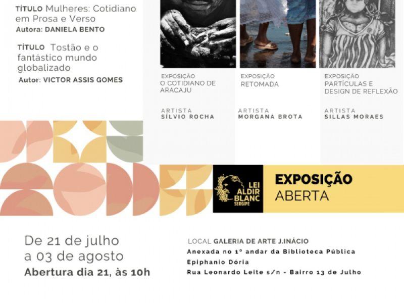 Galeria de Arte J. Inácio recebe três novas exposições nesta quarta-feira (21)