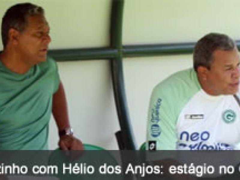 Joãozinho Paulista amplia conhecimentos no Goiás