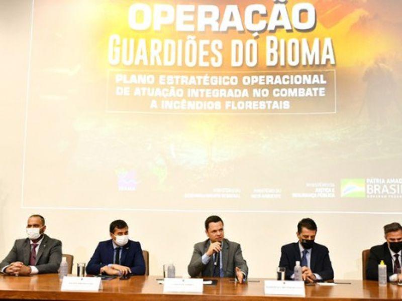 Lançado plano integrado para combater incêndios e punir crimes ambientais