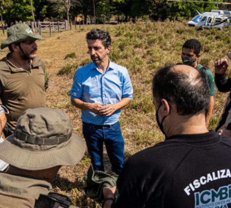 Ministério do Meio Ambiente coordena ações de fiscalização ambiental na Amazônia