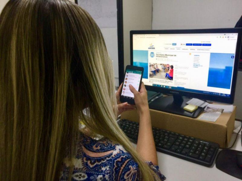 Maceioenses aprovam atendimento via WhatsApp para serviços da Infraestutura