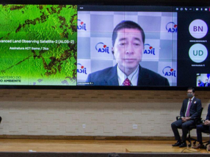 Acordo por satélite japonês traz inovação para monitorar desmatamento