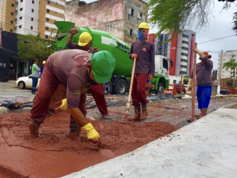 Infraestrutura inicia construção da ciclovia do Parque da Mulher