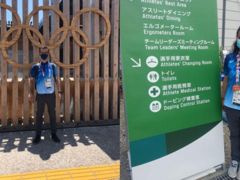 Em Tóquio, Brasil também tem representantes no time de controle de dopagem