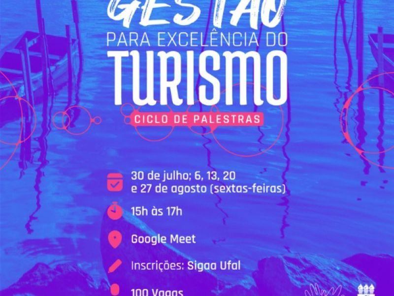 Ufal Penedo promove ciclo de palestras sobre gestão para excelência do turismo