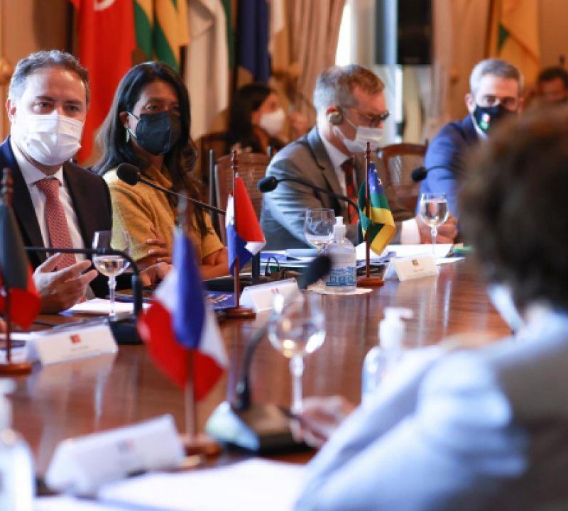 Em Recife, governadores do NE e França definem áreas prioritárias para desenvolver região
