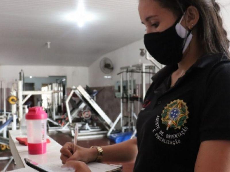 Durante fiscalização do Conselho Regional, academias são fechadas em Propriá e Neópolis