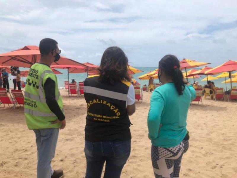 Operação Mar Azul: Prefeitura orienta população e comerciantes da orla marítima no sábado