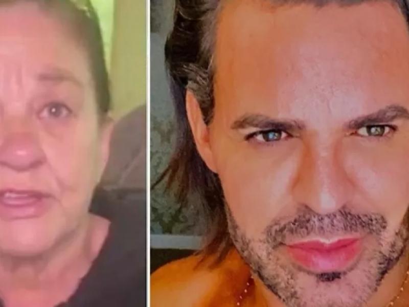 Eduardo Costa se recusa a fazer teste de DNA com mulher que diz ser sua mãe