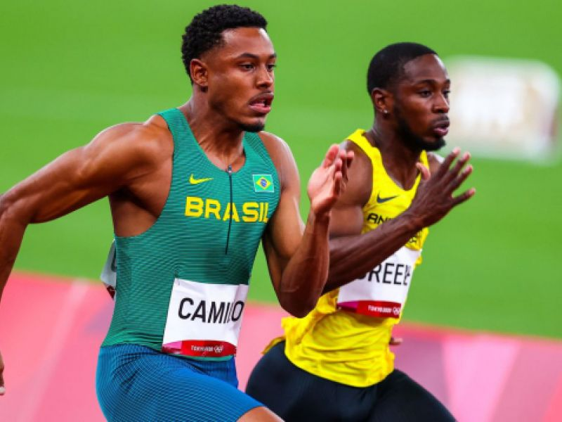 Paulo André decide vaga na final olímpica dos 100 m neste domingo