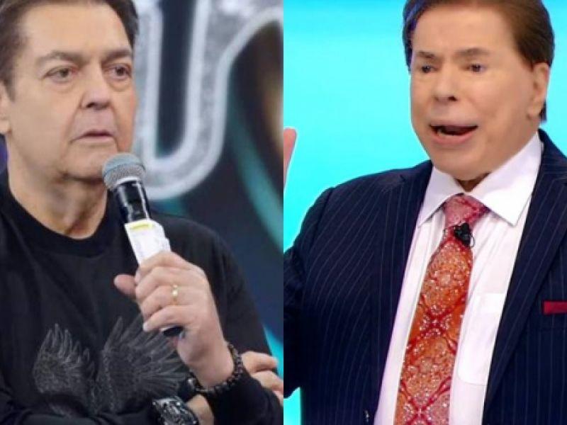Ácido, Silvio Santos não poupa Faustão em retorno ao SBT e solta alfinetada