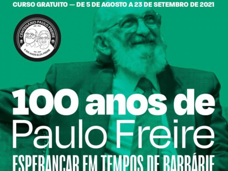Ufal integra rede de apoio a curso on-line sobre vida e obra de Paulo Freire