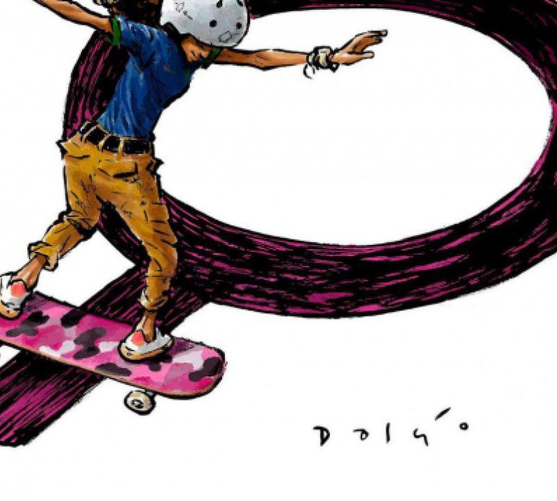 Homenagem: Exposição virtual apresenta atletas olímpicos brasileiros em cartuns