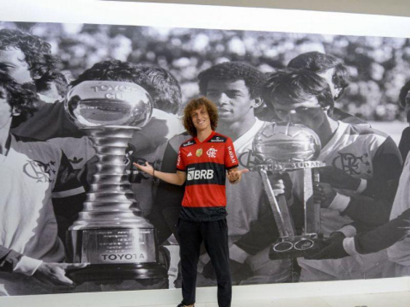 David Luiz é apresentado oficialmente pelo Flamengo nesta segunda-feira (13)
