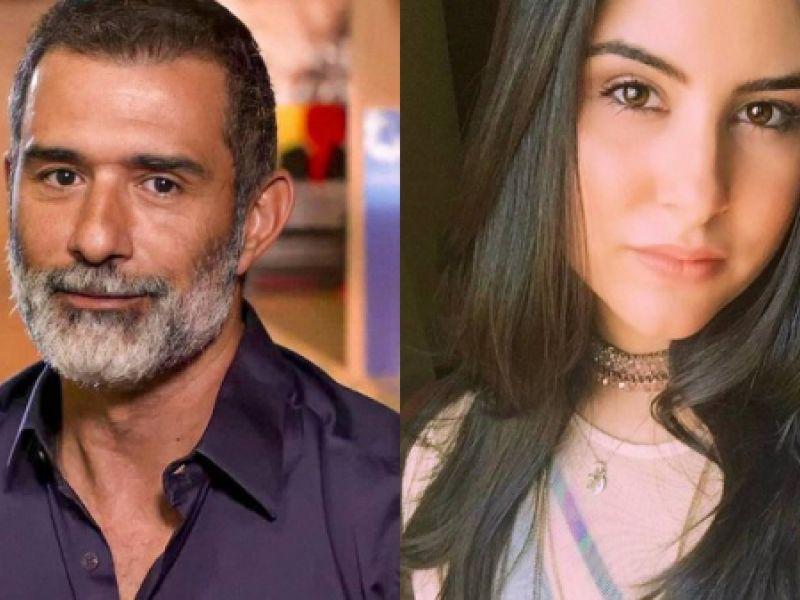 Aos 51 anos, Marcos Pasquim mira a flecha do cupido em cantora de 22 anos e arrisca paquera na web