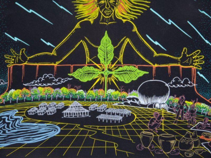 Exposição de arte indígena está em cartaz no Museu de Arte Moderna em São Paulo