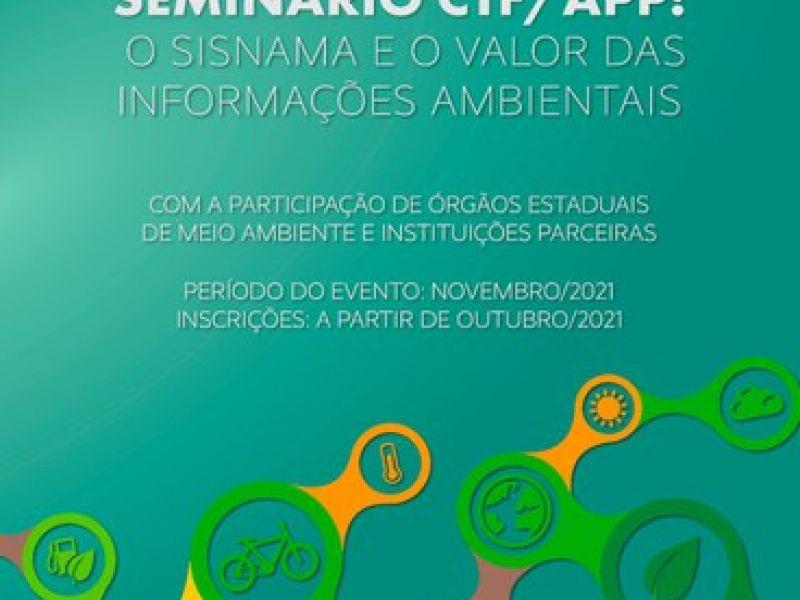 Ibama irá realiza em novembro o evento sobre informações ambientais