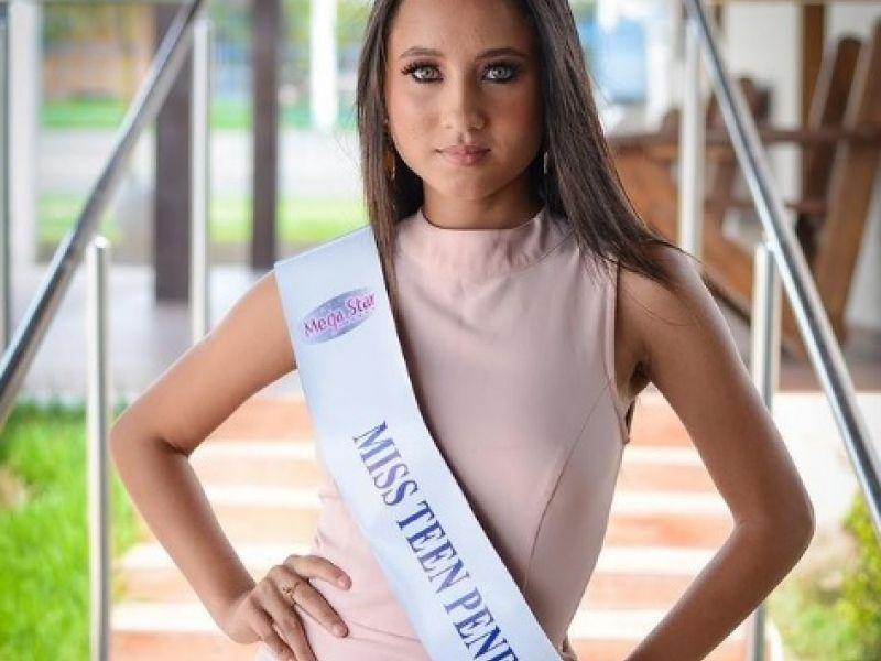 A Miss Teen Penedo  Maria Fernanda, conta com a ajuda de todos os Penedenses para nova etapa do concurso