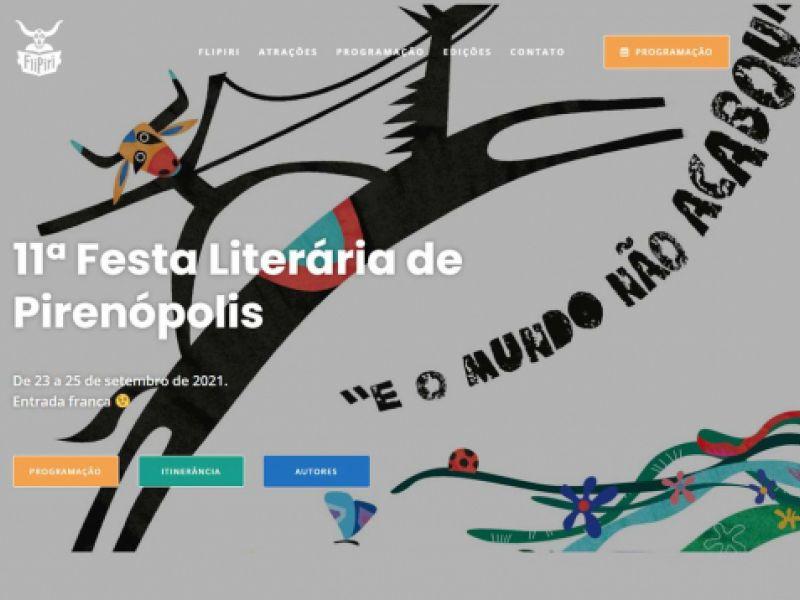 Festa Literária de Pirenópolis começou ontem (23) e homenageia poetas