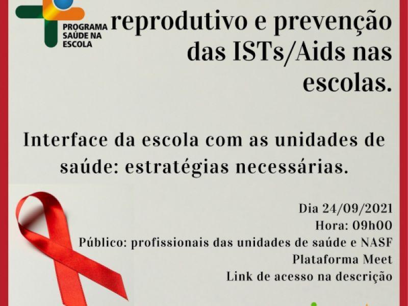 Saúde promove live sobre prevenção e controle das ISTs nesta sexta-feira (24)