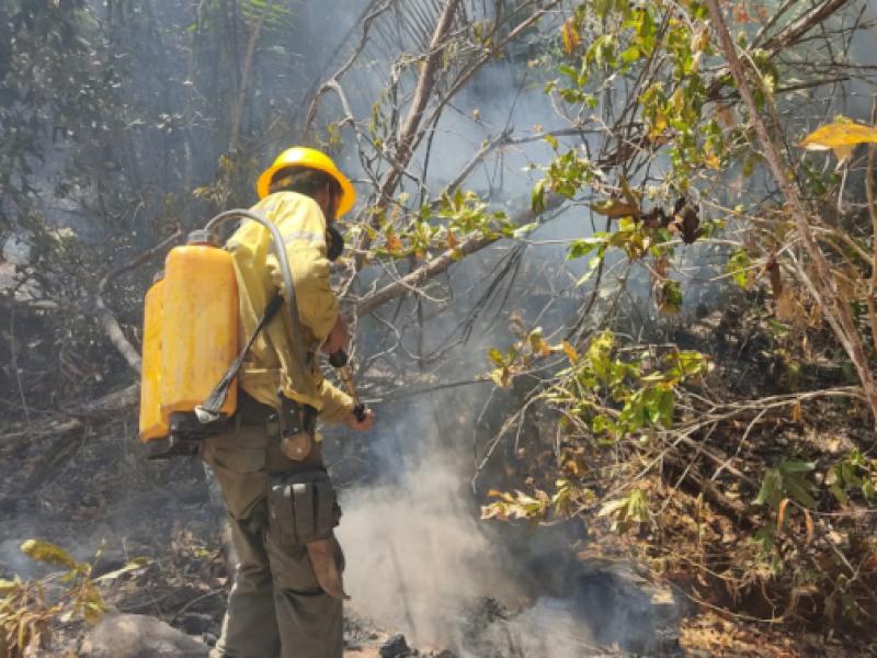 ICMBio reforça o combate aos incêndios na Chapada dos Veadeiros