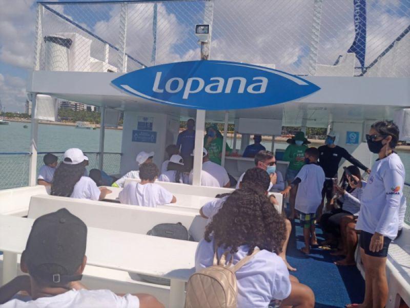 IMA e o restaurante Lopana retomam parceria de passeios educativos em catamarã