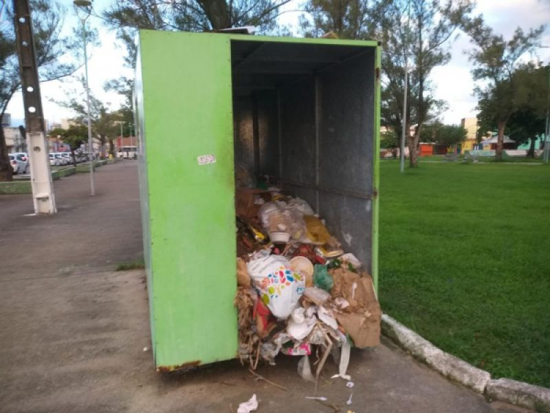 Vandalismo em Pontos de Entrega Voluntária gera despesa extra para a Prefeitura de Maceió