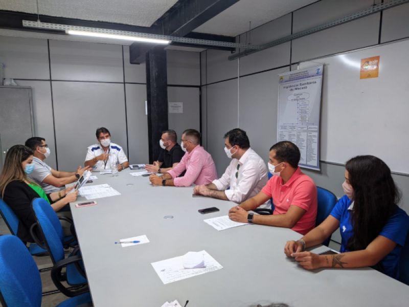 Representantes do futebol alagoano firmam termo para adequação sanitária