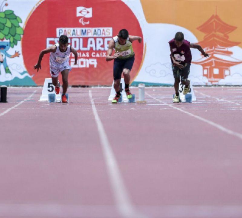 Coluna - Paralimpíada Escolar, realizada desde 2009, abre caminho para o alto rendimento