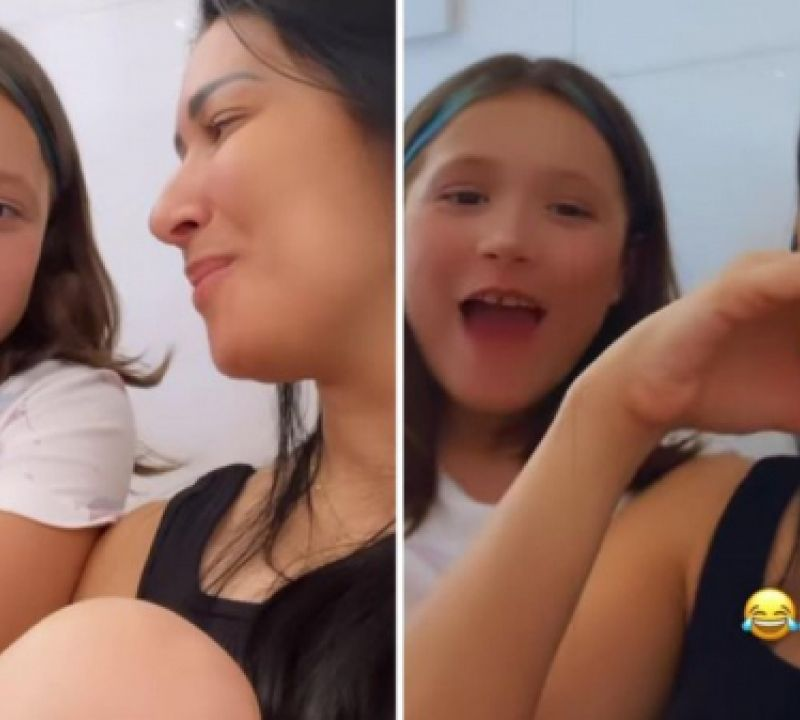 Filha de Simaria Mendes dá resposta inusitada sobre solteirice da mãe e arranca risadas