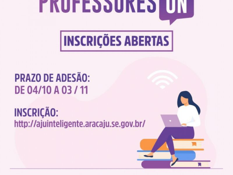 Prefeitura de Aracaju inicia período de adesão ao programa Professores On