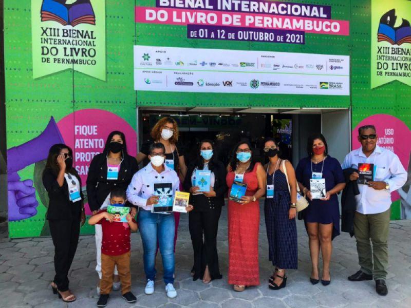 Escritores Alagoanos lançam livros na Bienal Internacional do Livro de Pernambuco
