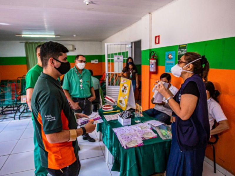 Prefeitura desenvolve ações de prevenção à saúde em empresas de Arapiraca