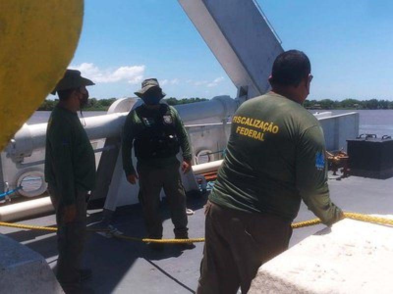 Ibama apreende 10,2 toneladas de pescado na Costa Atlântica dos estados do Amapá e Pará