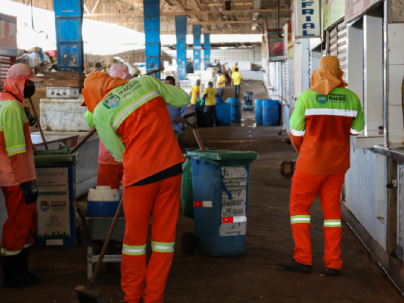 Mercado da Produção fecha nesta segunda (18) para realização de mutirão de limpeza