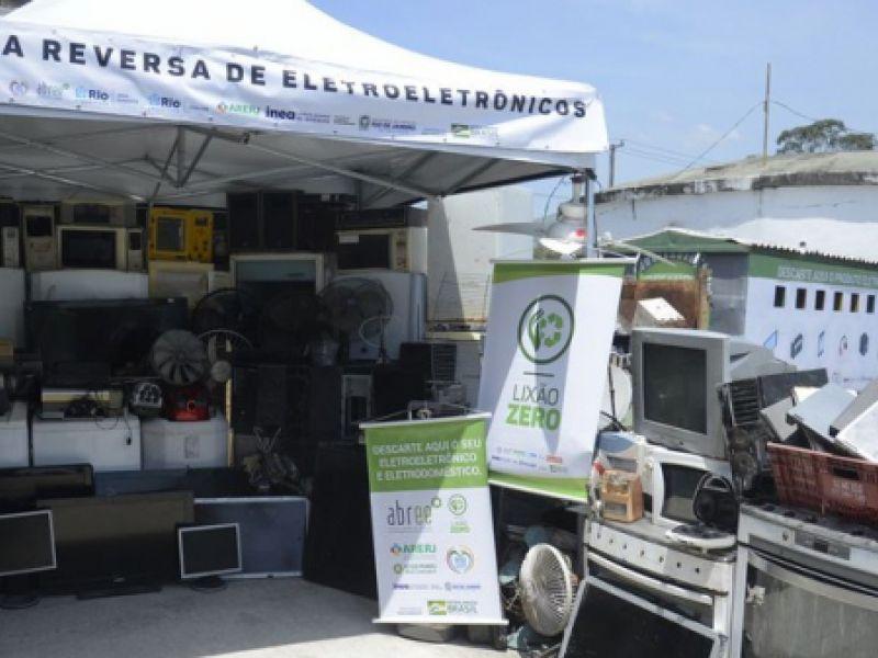 Rio de Janeiro ganha cerca de 300 pontos de coleta de lixo eletroeletrônico
