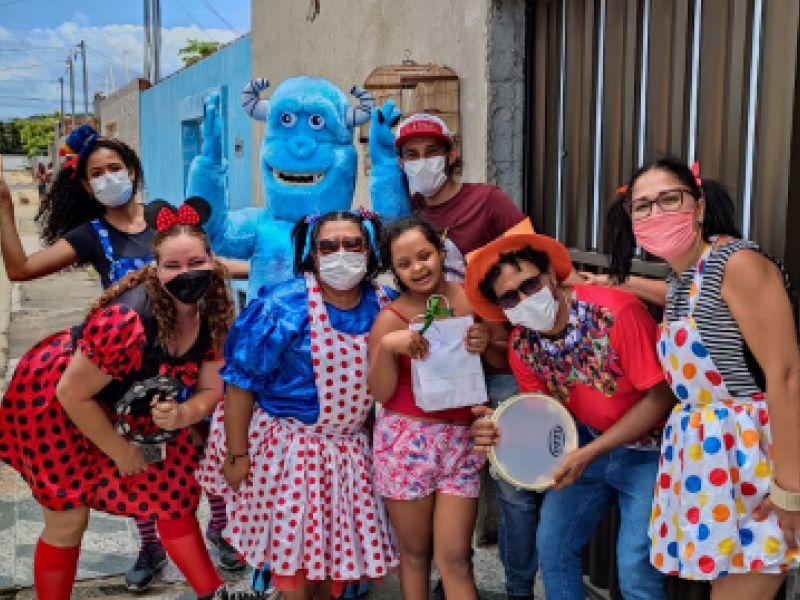 Cras da capital sergipana realizam atividades alusivas ao Dia das Crianças