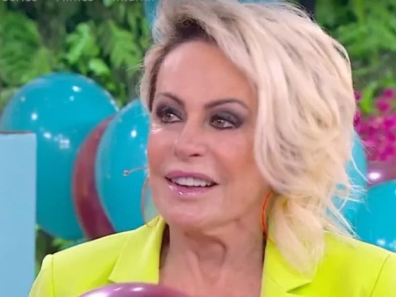 Ana Maria chora ao comemorar 22 anos de Globo e sem Louro José: 'Saudade'
