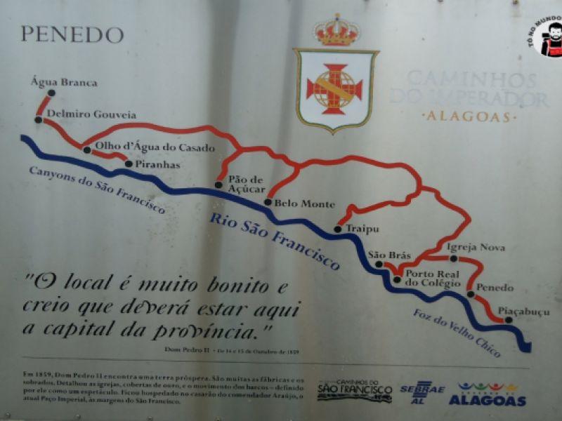 Ciclistas se aventuram fazendo rota que Dom Pedro II percorreu entre Penedo e Paulo Afonso