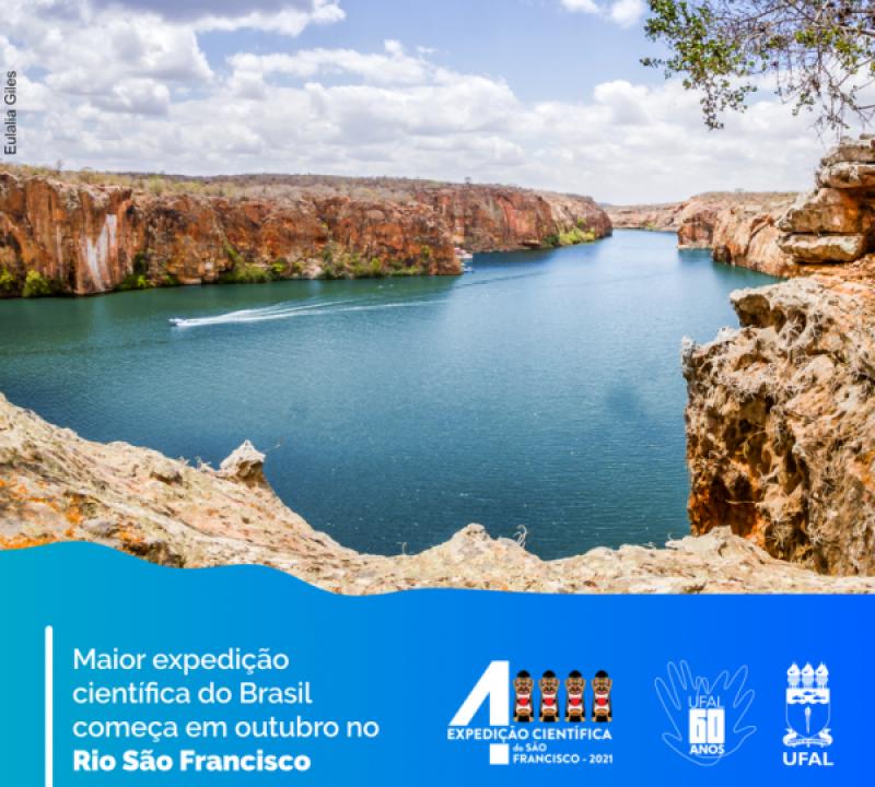 Maior expedição científica do Brasil começa no dia 31 no Rio São Francisco